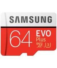Карта памет Samsung EVO Plus microSDXC 64GB