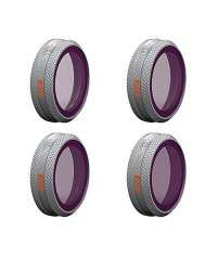 PGYTECH Filter Set for Mavic 2 Zoom - ND8/PL, ND16/PL, ND32/PL and ND64/PL (Advanced)