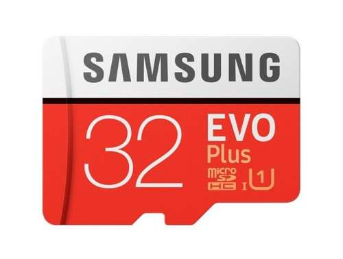 Samsung EVO Plus Micro SDHC 32GB
