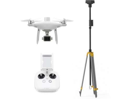 Phantom 4 Multispectral Camera Drone + DJI D-RTK 2 Mobile Station Combo