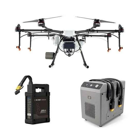 Аграрен дрон Agras MG-1P с батерия и зарядно устройство