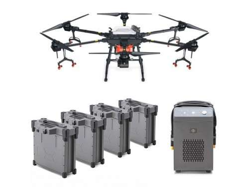 Agras T16 Combo Agriculture Drone with 4 Batteries and Charger