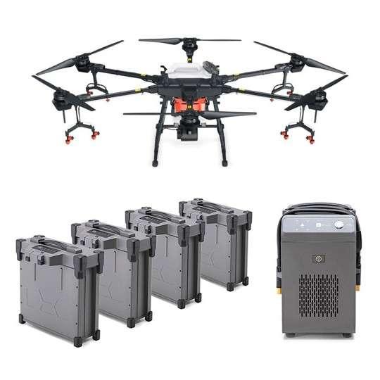 Аграрен дрон Agras T16 Combo с 4 батерии и зарядно устройство