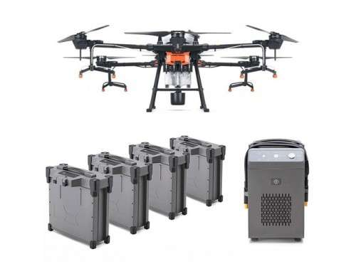 Аграрен дрон Agras T20 Combo с 4 батерии и зарядно устройство