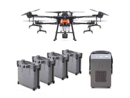 Аграрен дрон Agras T20 с 4 батерии и зарядно устройство