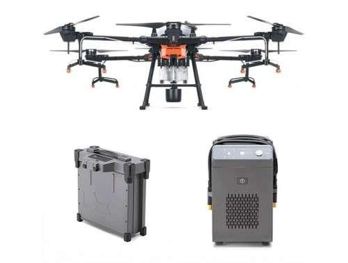 Аграрен дрон Agras T20 с 1 батерия и зарядно устройство