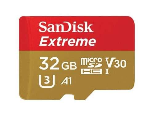 Карта памет SanDisk microSDHC Extreme 32GB V30