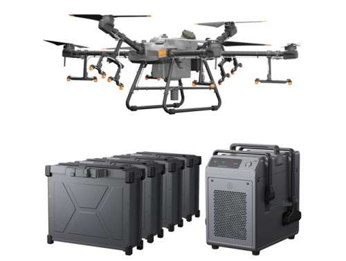 Agras T30 Combo Agriculture Drone with 4 Batteries and Charger