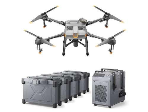 Аграрен дрон Agras T10 Combo с 4 батерии и зарядно устройство