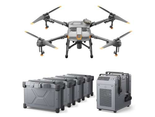 Agras T10 Combo Agriculture Drone with 4 Batteries and Charger