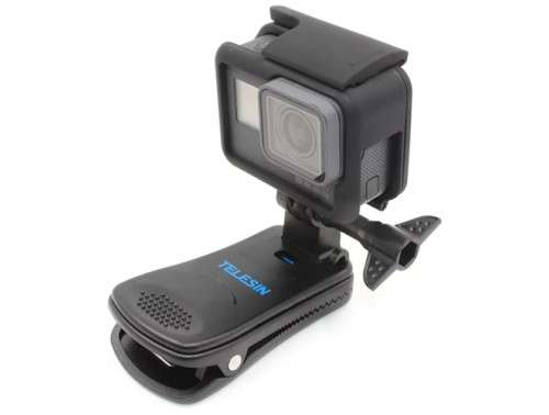 TELESIN 360° Въртяща се щипка за Action Camera