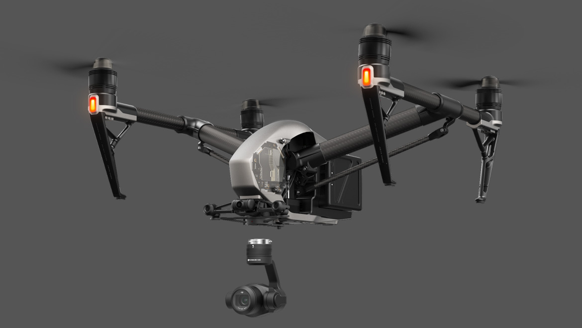 The Inspire 2 Drone Flying Camera