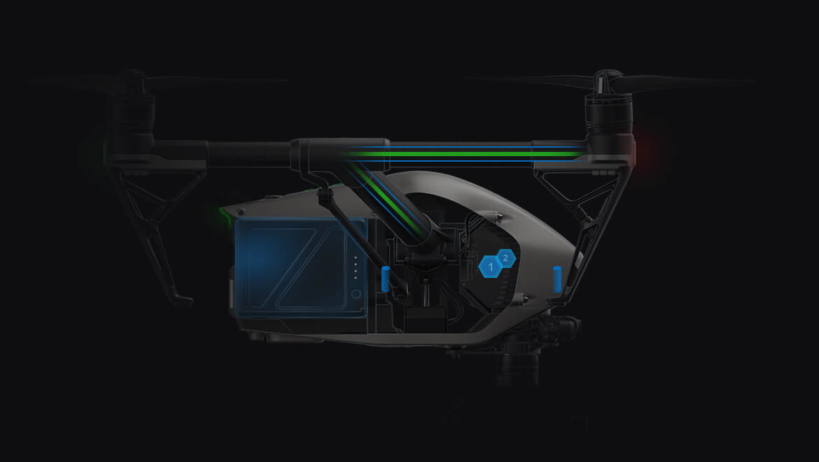 Inspire 2 Drone for more reliability