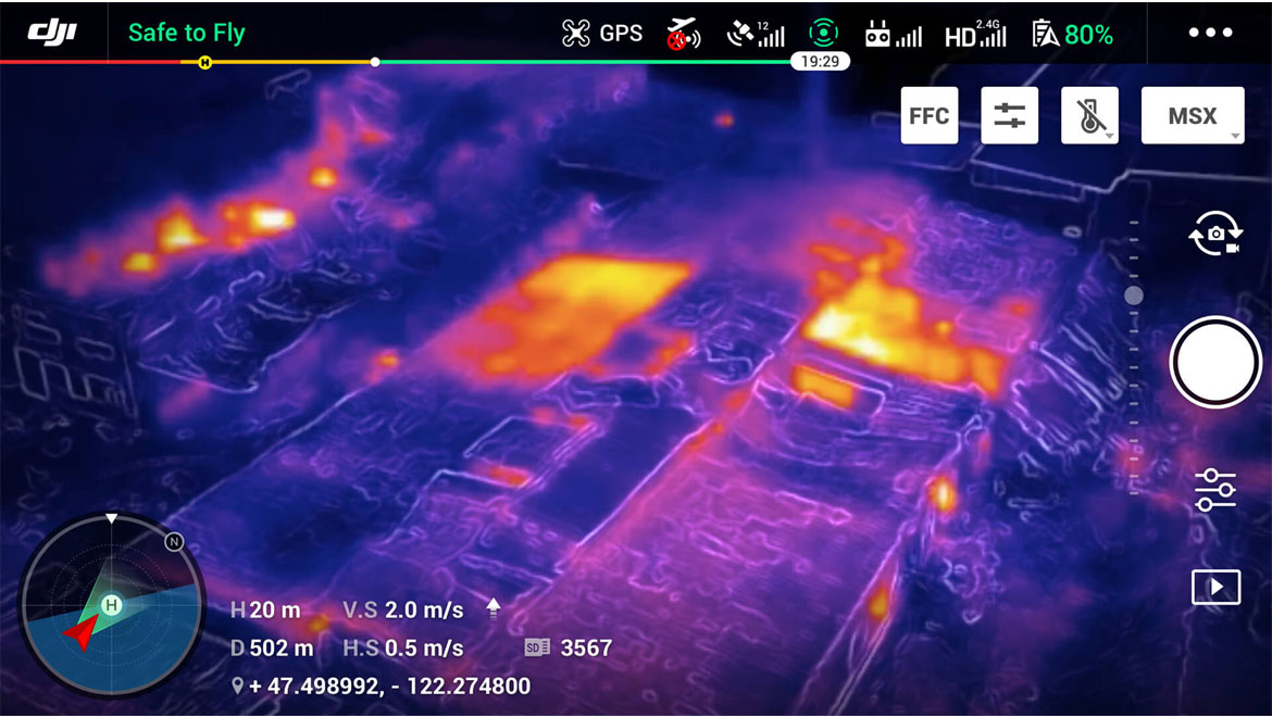 FLIR MSX | Mavic 2 Enterprise Dual