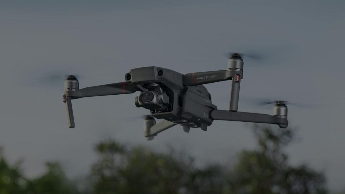Подобрено изображение за тактическа и практическа употреба. | Дрон Mavic 2 Enterprise Dual