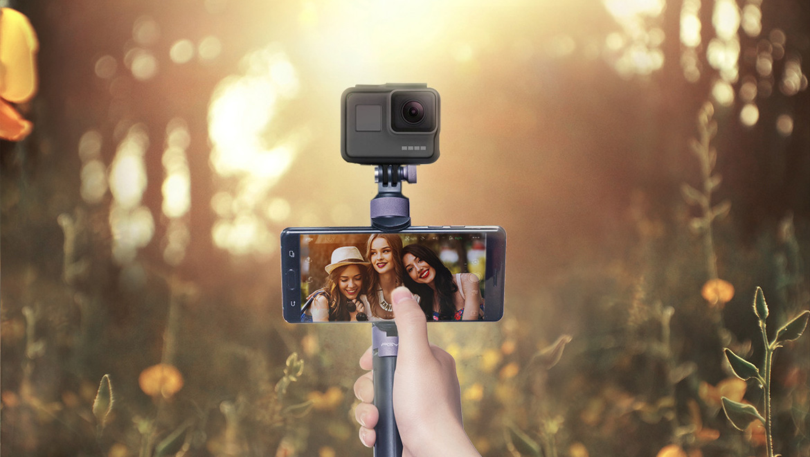 Capture Selfie Footage and Images