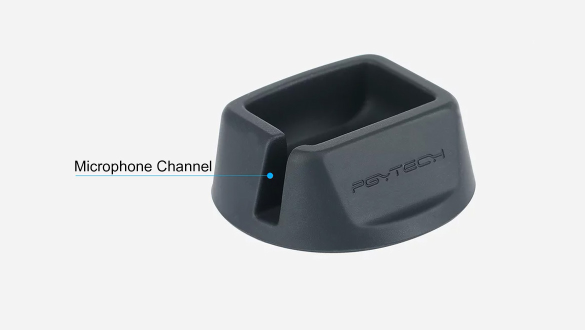 Microphone Channel PGYTECH Pad for Osmo Pocket