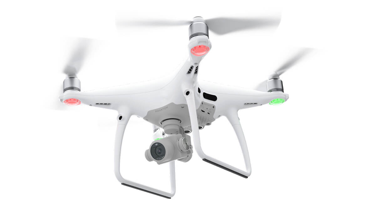 Phantom 4 Pro+ V2.0 Drone with 5-Direction Obstacle Sensing