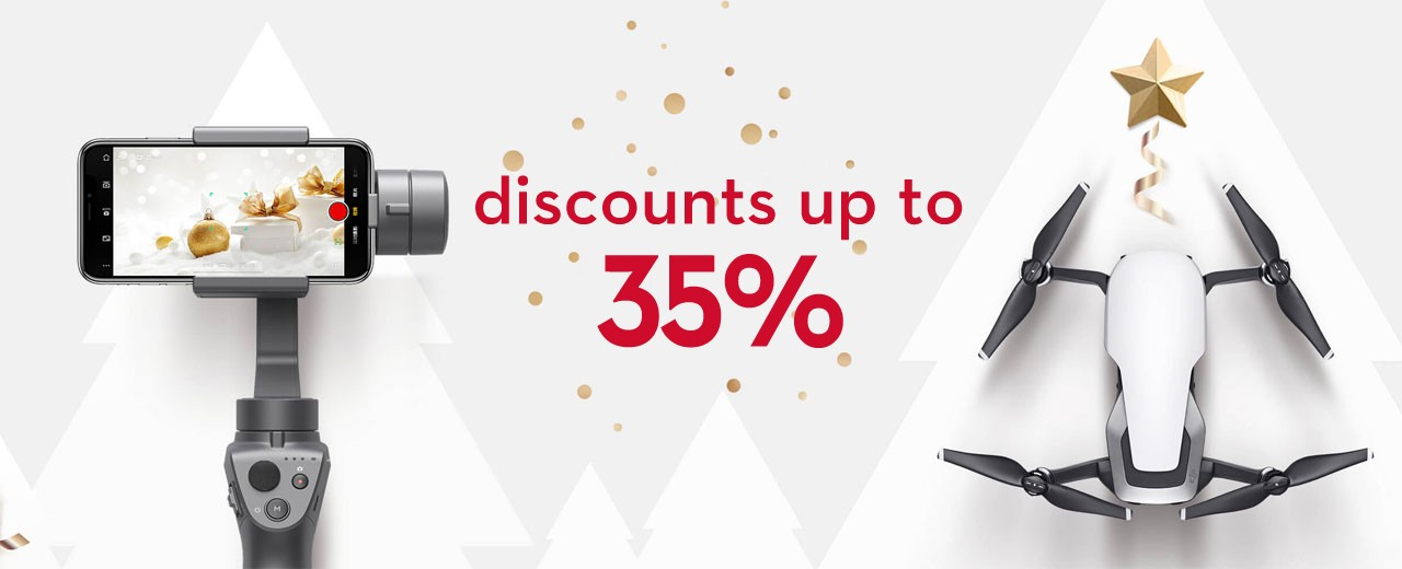 Magical Holidays to 31 December only in DJI Store Sofia