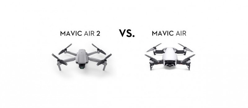 Mavic Air 2 vs. Mavic Air: Side-by-Side Comparison